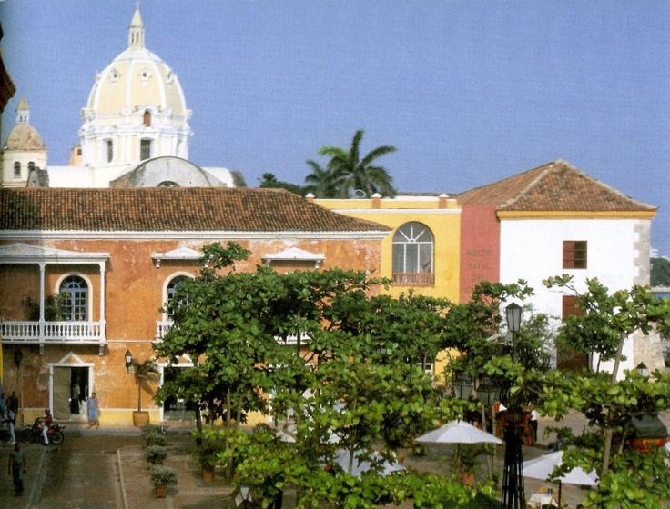 Plaza santa teresa, cartagena.