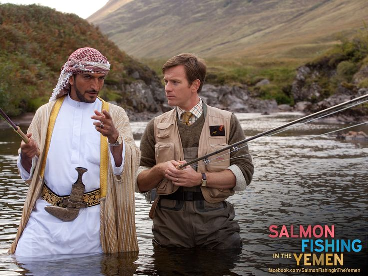 REPIN this and share the magic of Salmon Fishing in the Yemen!