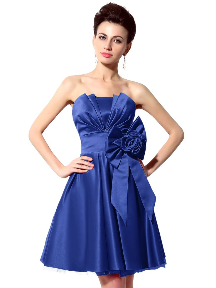Shop Royal Blue Flower Bow Embellished Bandeau Bridesmaid Dress online. SheIn offers Royal Blue Flower Bow Embellished Bandeau Bridesmaid Dress & more to fit your fashionable needs.