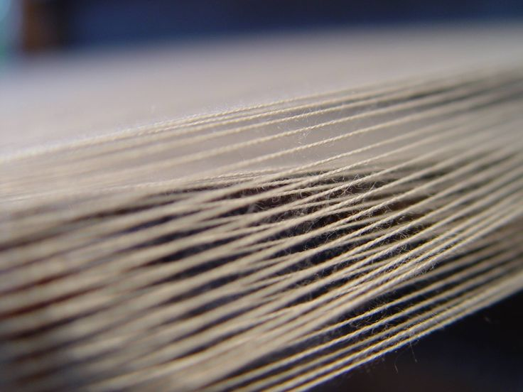 Threads on the weaving loom #ILLANGO #weaving