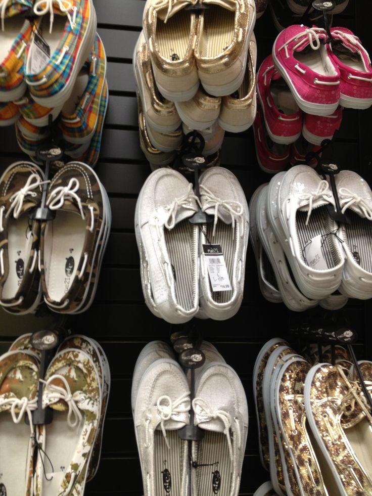 boat shoes #rue21CityofBones