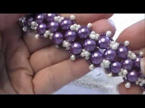 Tutorial come fare un bracciale a fiocco con perline superduo / twin braccialetto Papillon - YouTube