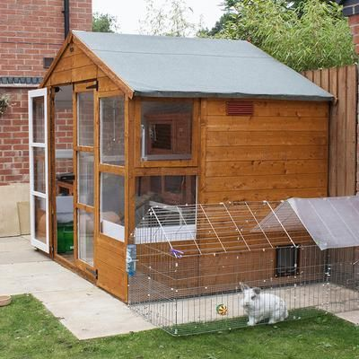 474 best great rabbit home ideas images on pinterest for Awesome rabbit hutches