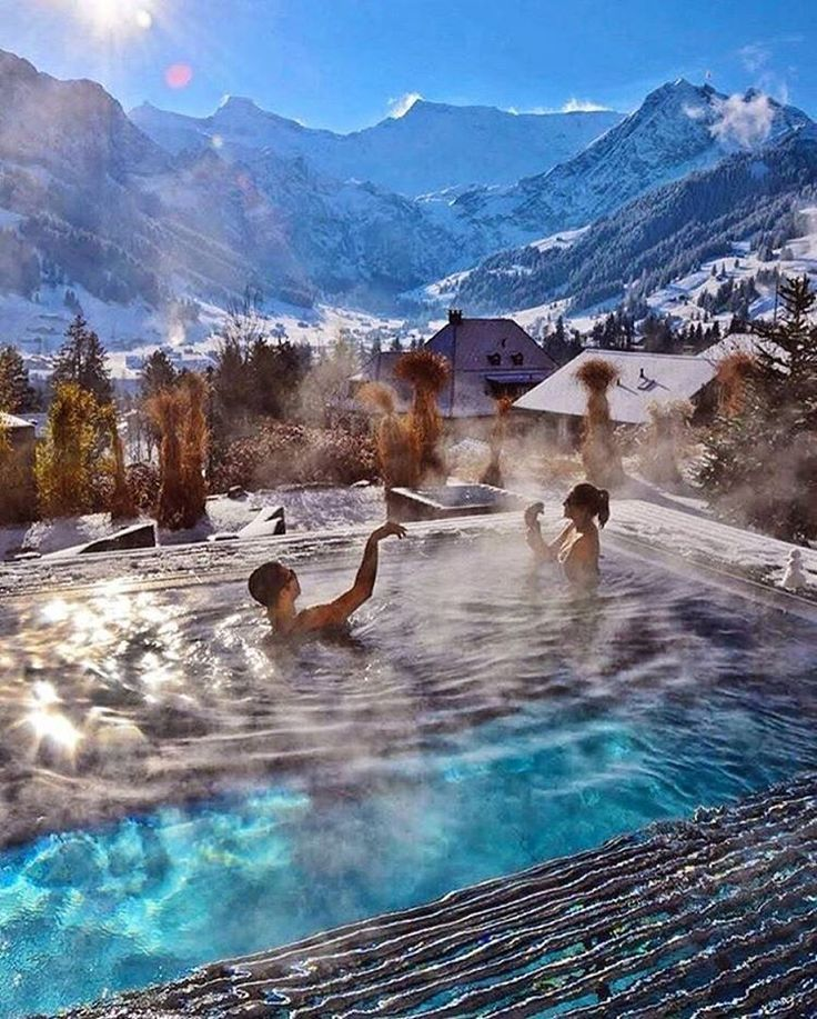 """The Cambrian Hotel Ski Resort and Spa, Switzerland. Via @Success.Coach 