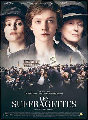 Cinéma : Les Suffragettes réalisé par Sarah Gavron - Avec Carrey Mulligan, Helena Bonham-Carter, Anne-Marie Duff http://www.parisianshoegals.com/2015/11/cinema-les-suffragettes-realise-par.html