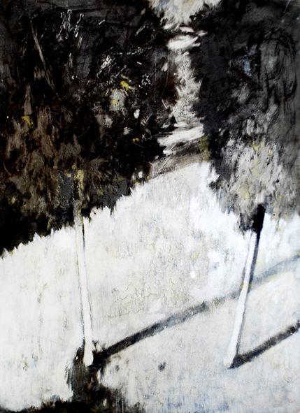 Marta Galisz malarstwo / pejzaż / painting / landscape