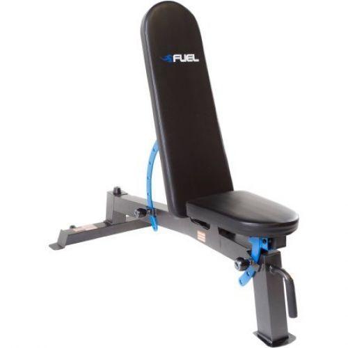 Adjustable Fitness Utility Exercise Bench Weight Flat Incline Workout  #AdjustableFitnessUtility