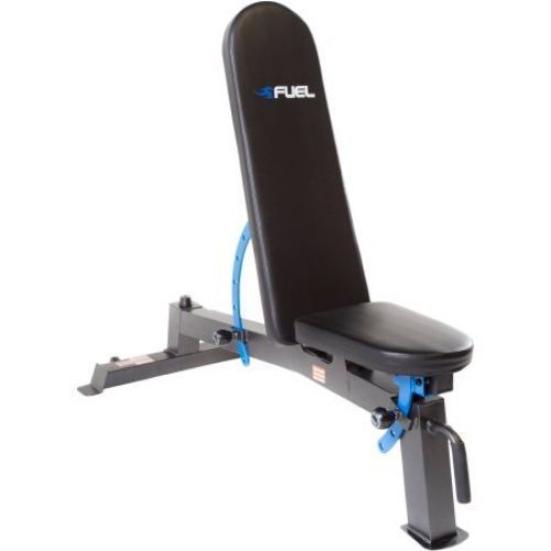Adjustable Fitness Utility Exercise Bench Weight Flat Incline Workout  #AdjustableFitnessUtility