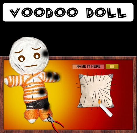 Someone you don't like, use the virtual voodoo >>>>See blog<<<<<<