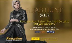 wolipop.com - Dibuka Sepekan, Pendaftaran Hijab Hunt 2015 Diserbu 800 Hijabers. Hijab Hunt 2015 sudah buka pendaftaran online sejak minggu kemarin. Ajang pencarian hijabers berbakat itu semakin diminati para hijabers muda terutama karena hadiahnya kian menarik. Berbeda dengan Hijab Hunt 2014 yang berhadiah uang tunai saja, tahun ini ajang yang diselenggarakan oleh Detikcom itu menawarkan uang tunai sekaligus paket perjalanan umrah gratis.  Untuk menjadi yang terbaik dan bisa membawa pulang…