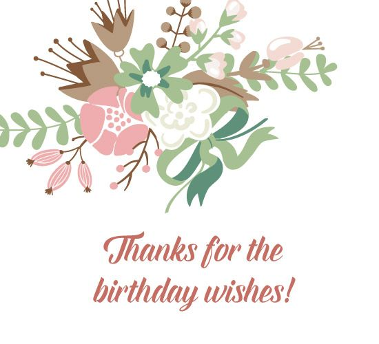Thank You For Your Birthday Wishes For Being There: 134 Best Images About Card : Thankyou On Pinterest