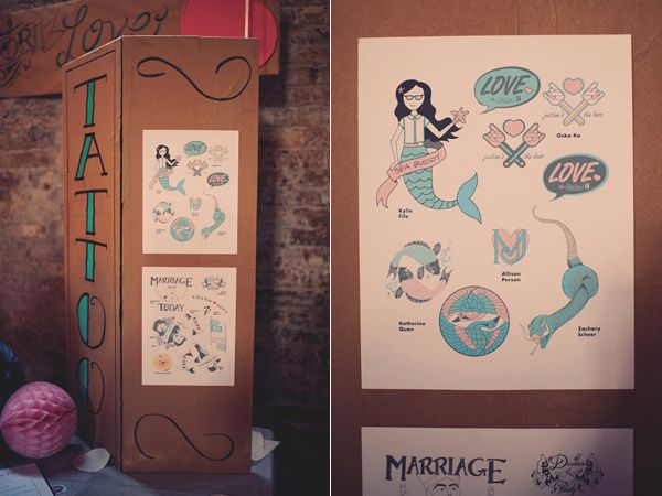 33 best images about brooklyn wedding on pinterest for Temporary tattoos wedding