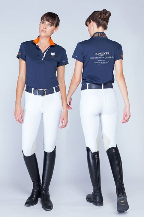 "Asmar Equestrian Shop our exclusive, limited run event polos at the Asmar Equestrian boutique set up at Thunderbird Show Park starting today all weekend as we prepare for the Longines FEI World Cup Jumping event this Sunday. The Scout Guide Equestrian reports, ""Equestrian sport has long been admired for its style and Noel Asmar makes a statement both in the ring and out. Their punch pink jump is sure to stand out in our field come event day!"" said Jane Tidball, President of Thunderbird Show…"