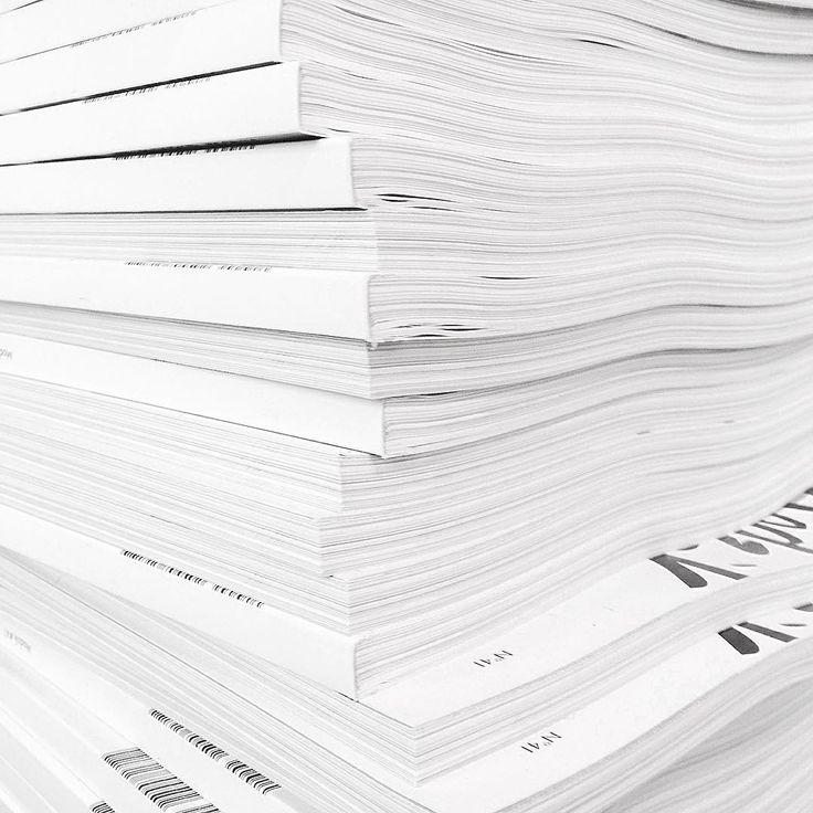 Pile of print /