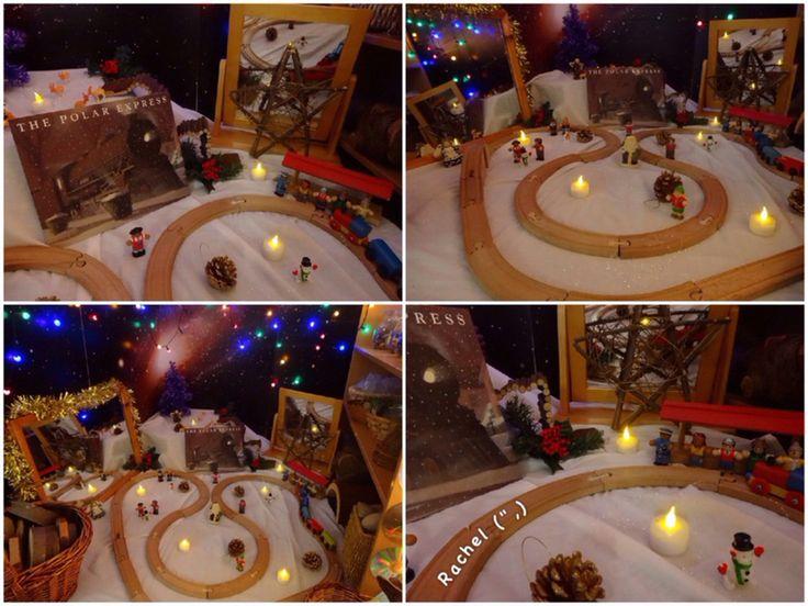 "Polar Express Inspired Small World Play from Rachel ("",)"