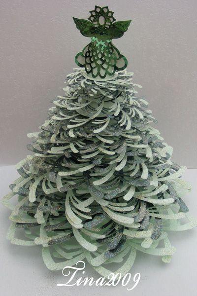 Christmas Tree Crafts   Paper Christmas Tree Crafts