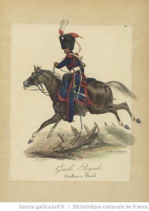 [Maison du Roi et garde royale de Louis XVIII, 1817.] / Ch. Aubry - 24