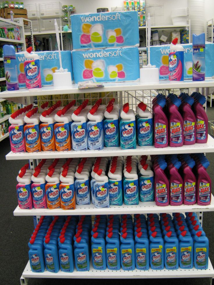 Quite a lot of toilet cleaner !!!  On display cheap as chips 2010