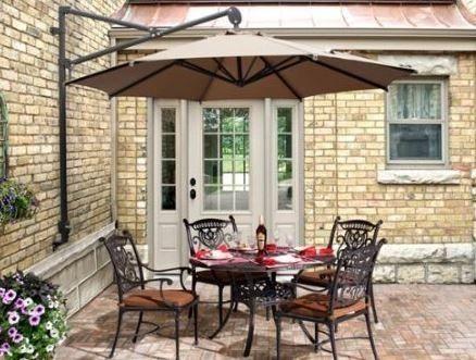 parasoles y sombrillas de brazo o excntricos