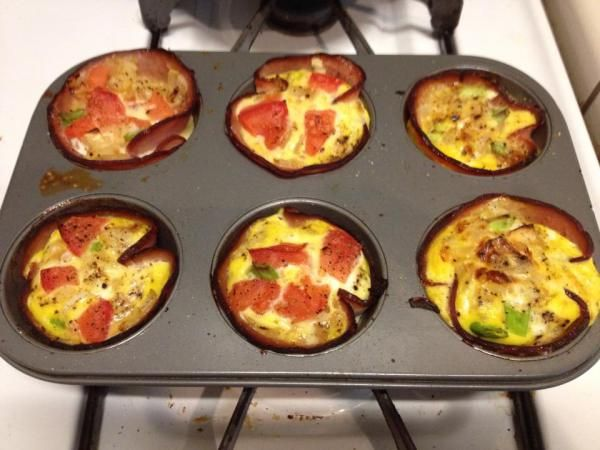 Paleo Omelette Cups 2