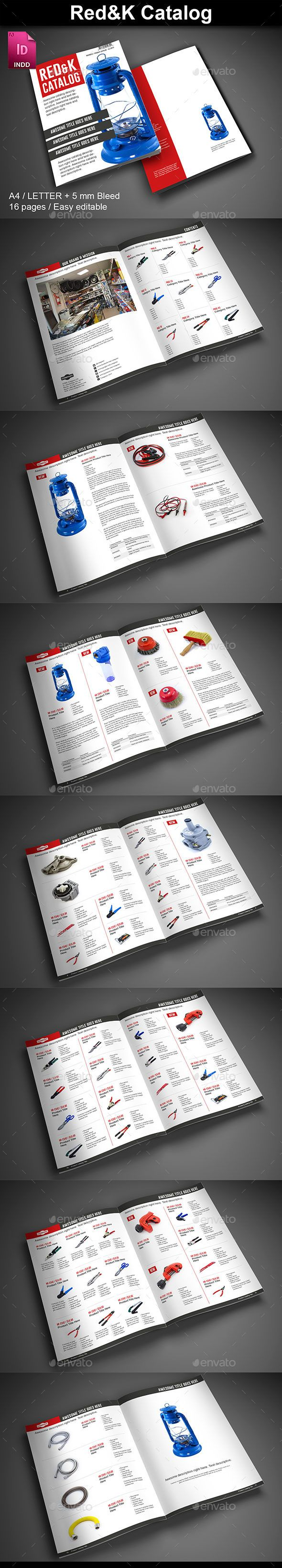 Red & K Product Catalog - Catalogs Brochures