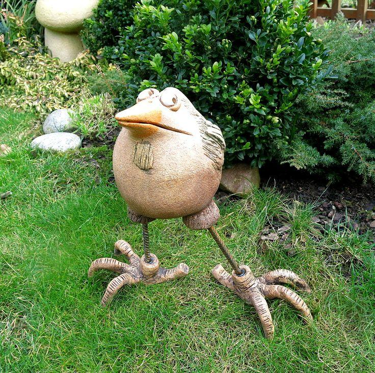 Die 67 besten bilder zu keramik t pfern auf pinterest for Gartenskulpturen aus ton