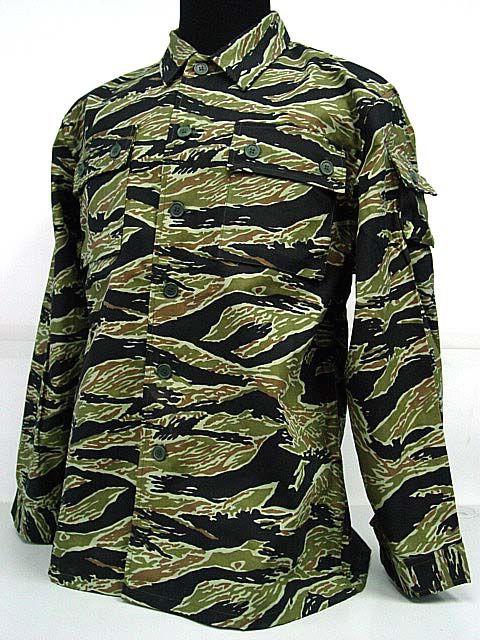 Vietnam Tiger Stripe Camo BDU Uniform Shirt Pant | eBay