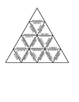 If your students want a challenge here it is! This is a Tarsia puzzle with difficult chemical equations. This is a great activity for the students who fly through their work and are looking for something to do!