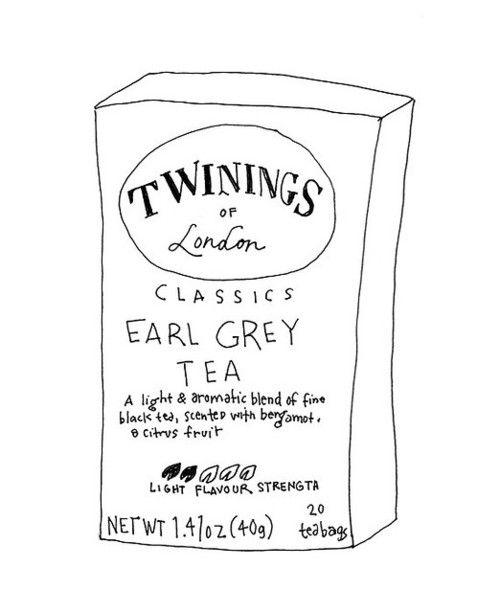 earl grey tea.Fashion Men, Teas Time, Teas Illustration, Grey Teas, Earl Grey Tea, Favorite Teas, Amelia Elizabeth, Drinks Teas, Twine Earl