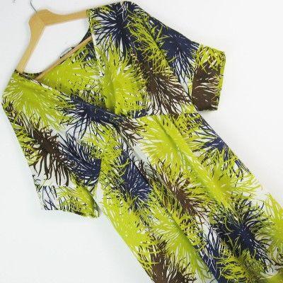 Sukienka kimono satyna Line r.44