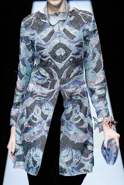 Giorgio Armani - Milan Fashion Week - Fall 2015