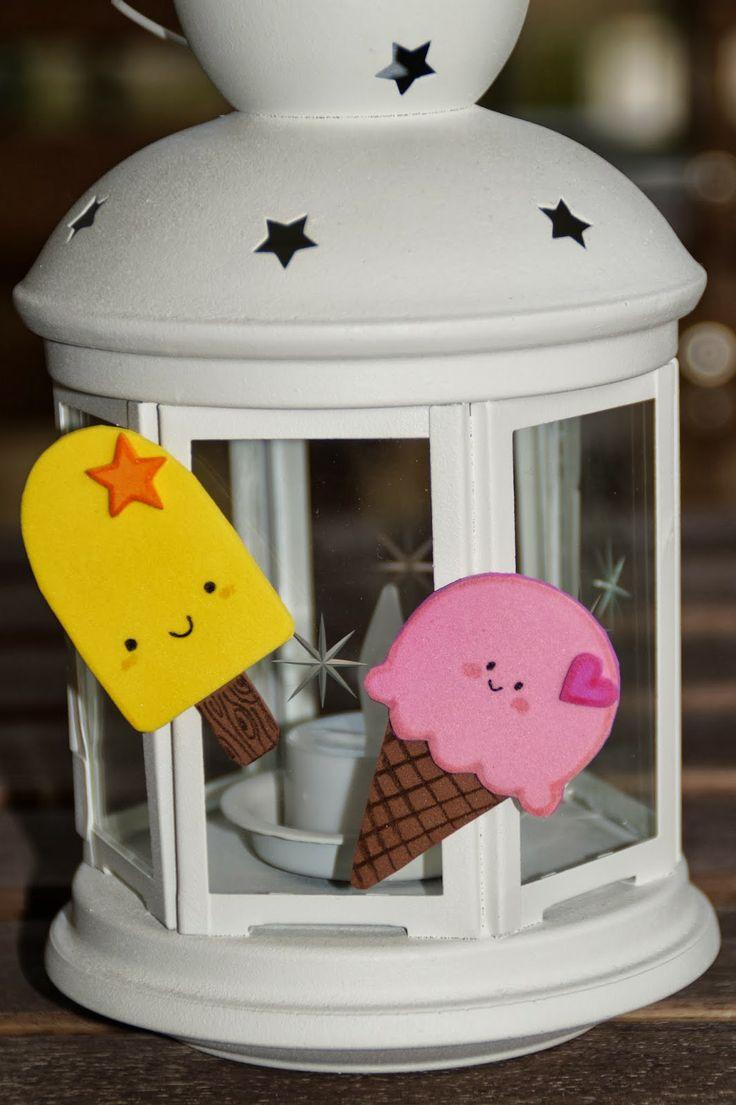 DIY imanes I - Helados felices :)