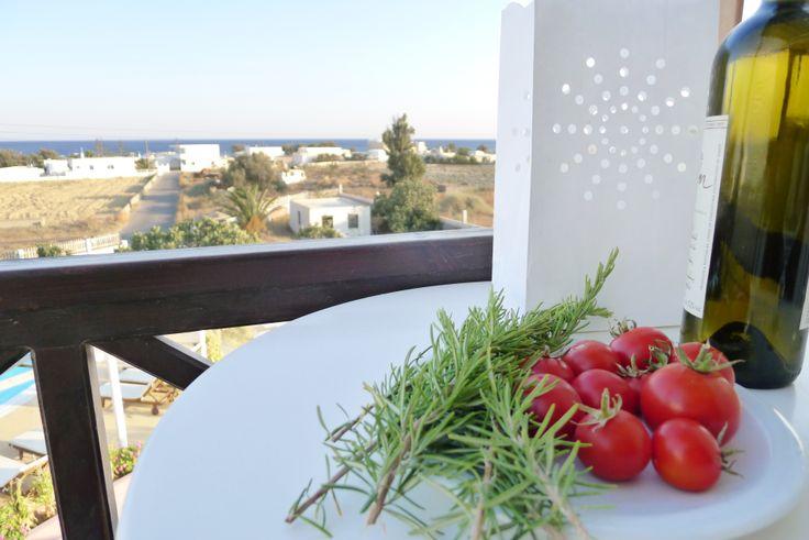Enjoy the harmony at your private balcony.  @ #NostosStudios #Santorini