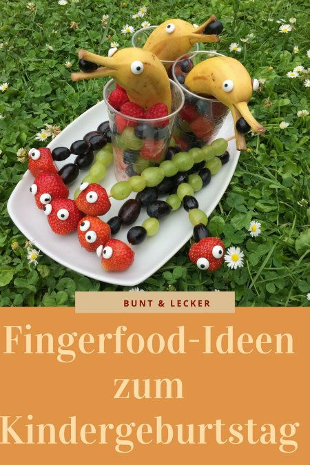 Fingerfood Kindergeburtstag – Jana Krüger