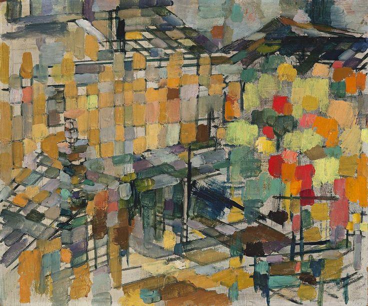 John Passmore (1904-1984) - The Balloon Tree, 1955