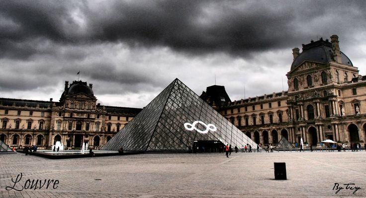 Musée du Louvre ve městě Paris, Île-de-France