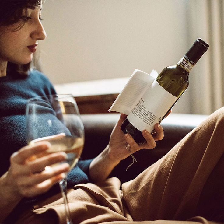Innovative Wine Bottles Include Labels With Short Stories to Read While You Sip - My Modern Met