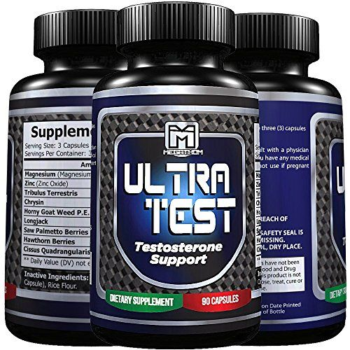 MEGATHOM Testosterone Booster pills the Natural Testosterone Booster supplement  Boost performance strength gains and muscle growth to the Max  90 capsules 100 Guarantee ** Continue @