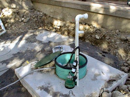 Centrifugal pumps like this one are the traditional form of septic system pumping.