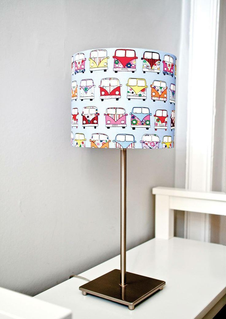 VW Campervan Lampshade