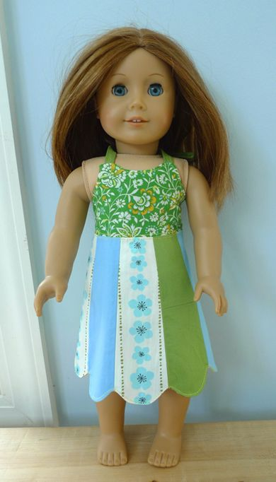 Free 18-Inch Doll Dress Pattern