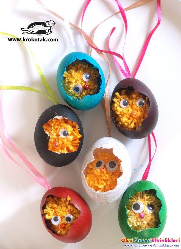 ipten yumurtadan çıkan civciv yapalım