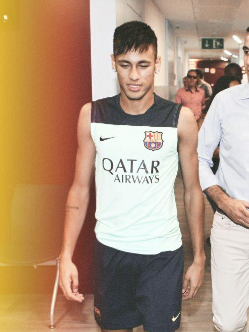 neymar, barcelona in Qatar shirt- perfect :)