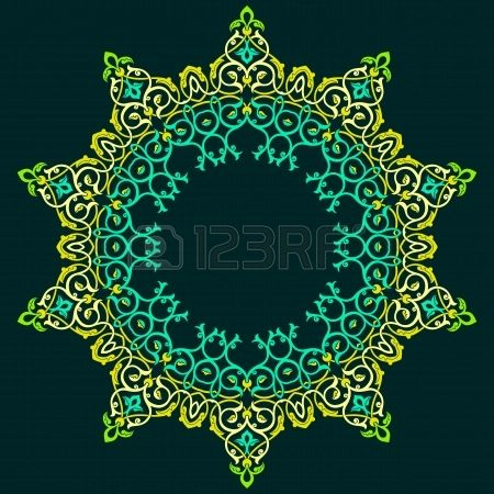 Vector of traditional Persian-Arabic-Turkish-Islamic Pattern  Stock Photo - 19694724