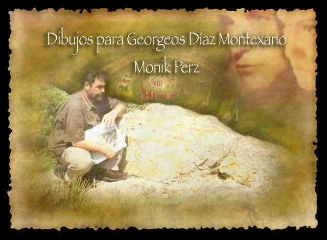 Dibujos para Georgeos Díaz Montexano Edición de video año 2010 Autora Monik Perz