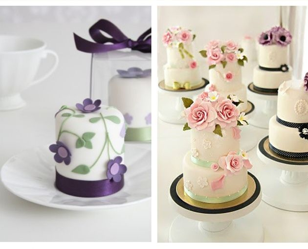 how to decorate mini wedding cakes 16 best images about mini wedding cakes purple indian 15677