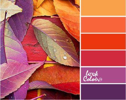 красно-оранжевый красный красно-фиолетовый