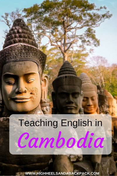 Teaching English in Cambodia - A British TEFL Teacher shares her experiences and advice after a year spent teaching in Siem Reap.