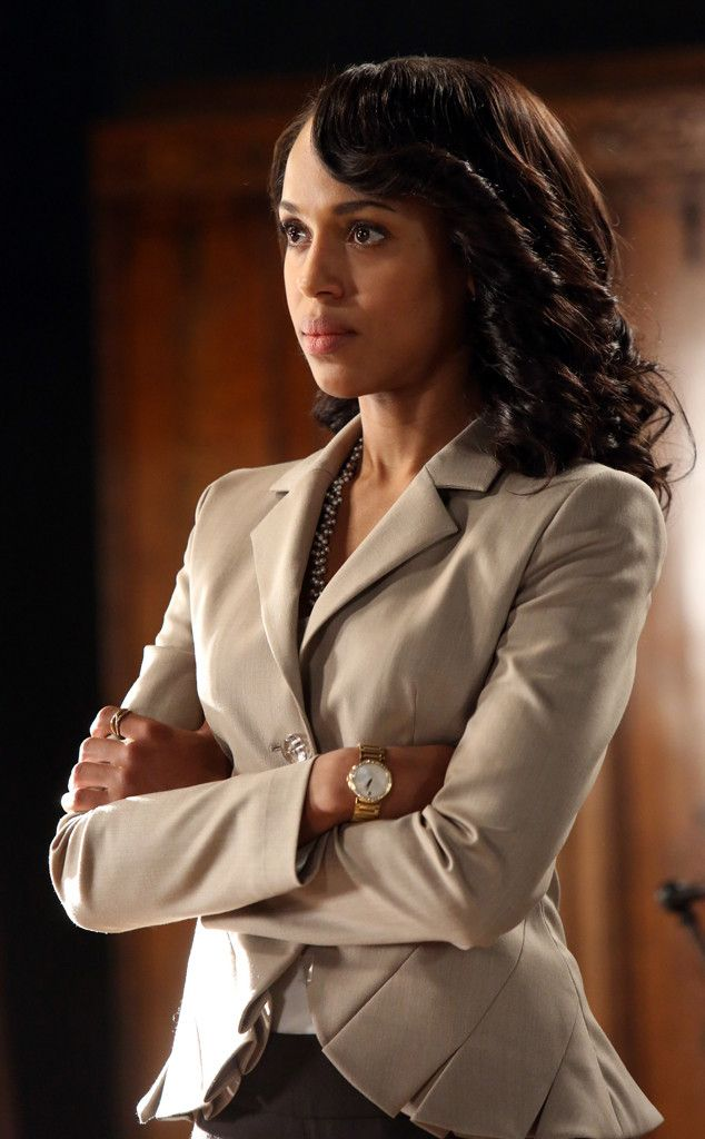 Kerry Washington Scandal Wardrobe | Escada Blazer from Olivia Pope's Top 10 Looks on Scandal | E! Online