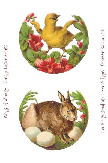 Wings of Whimsy: Easter Scraps - 12 images